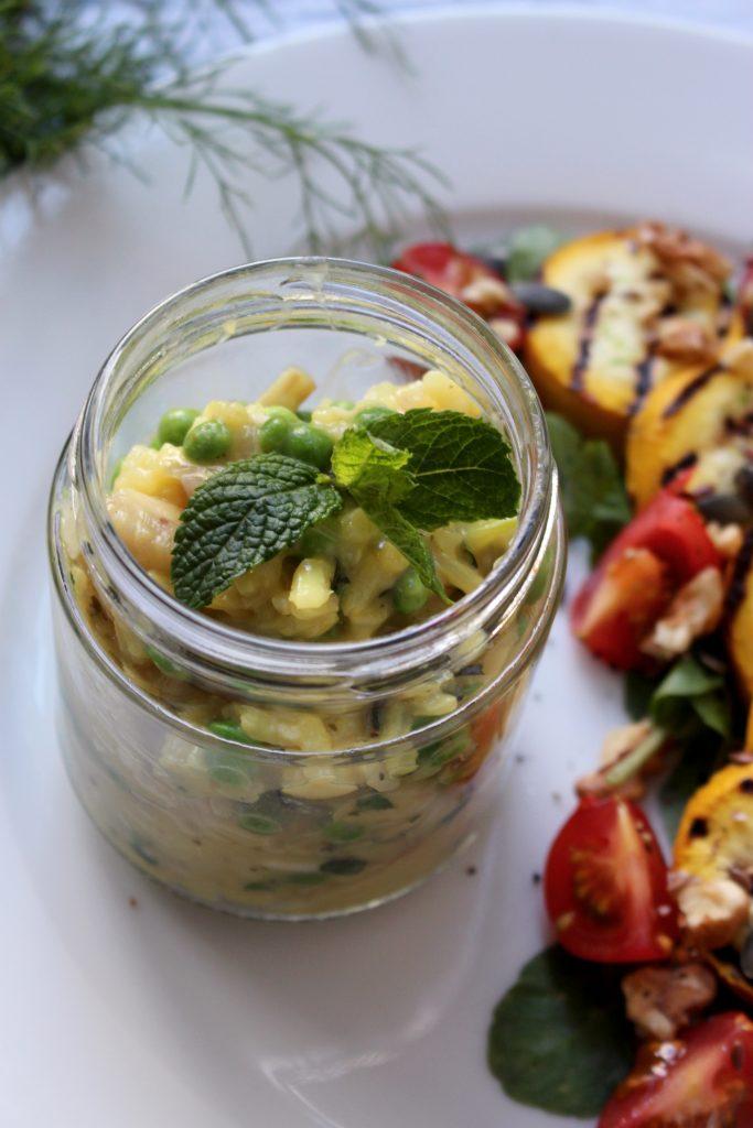 Vegetarisch recept Venkelrisotto seizoensgroenten juli