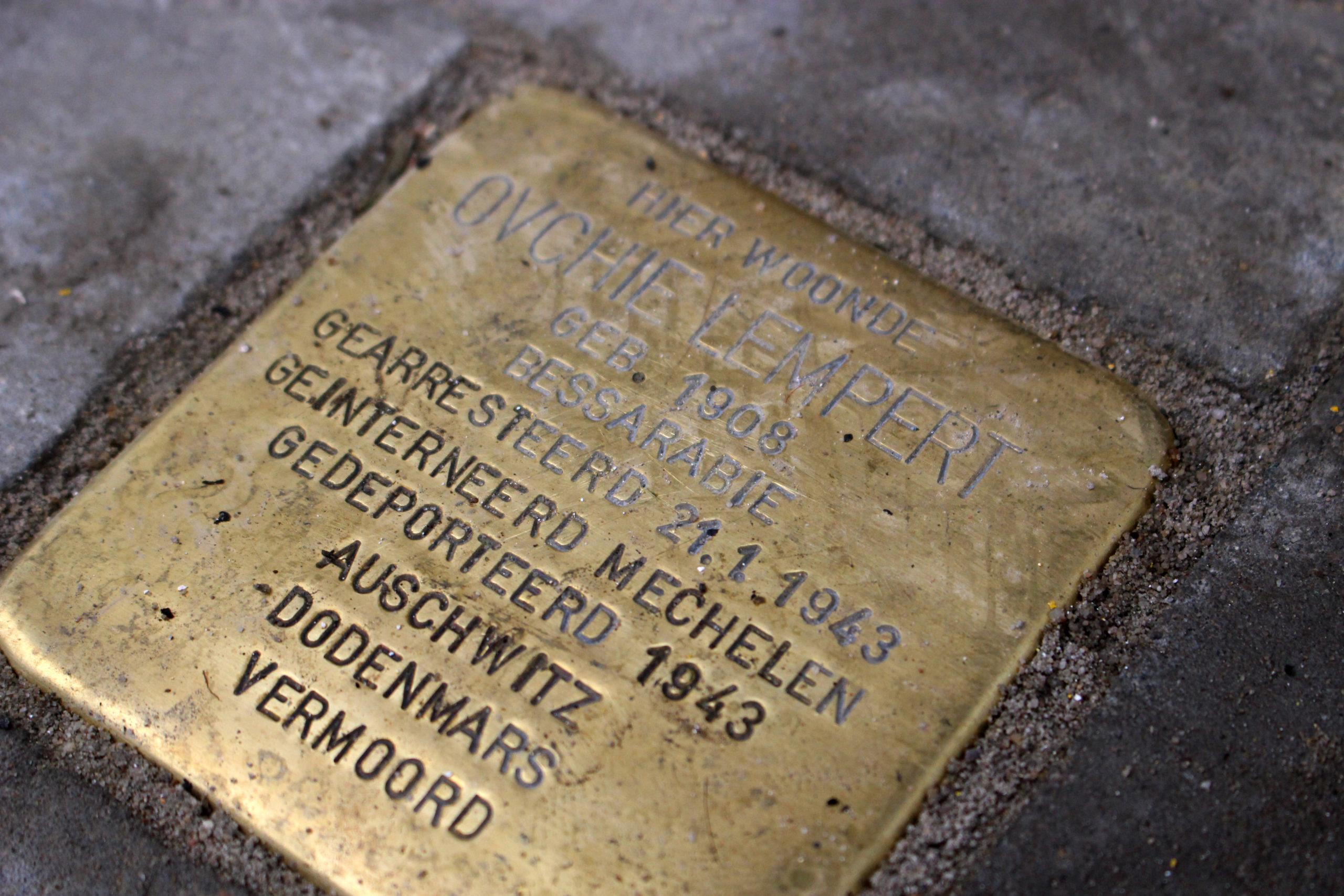 stolperstein Gent