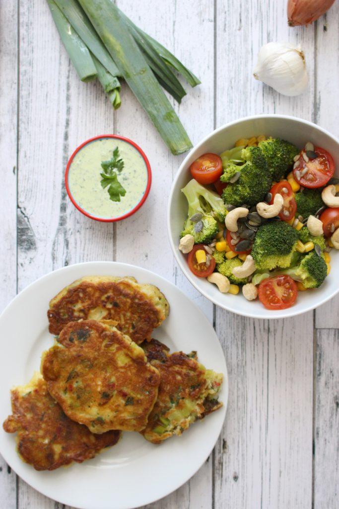 Recept preikoekjes vegetarisch seizoensgroenten mei