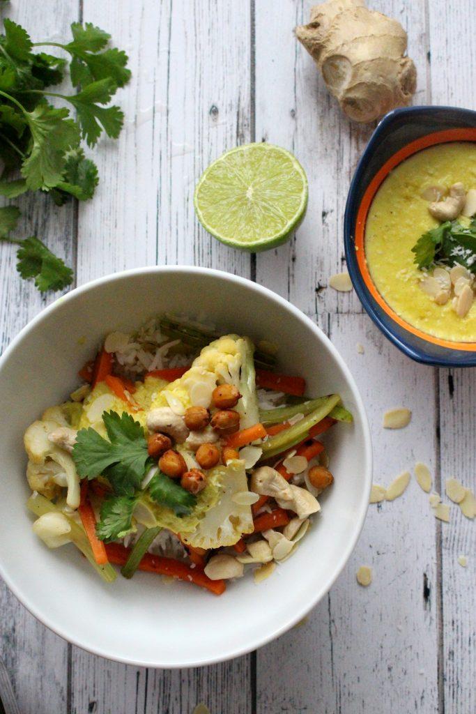 vegan veganistische wok recept seizoensgroenten mei