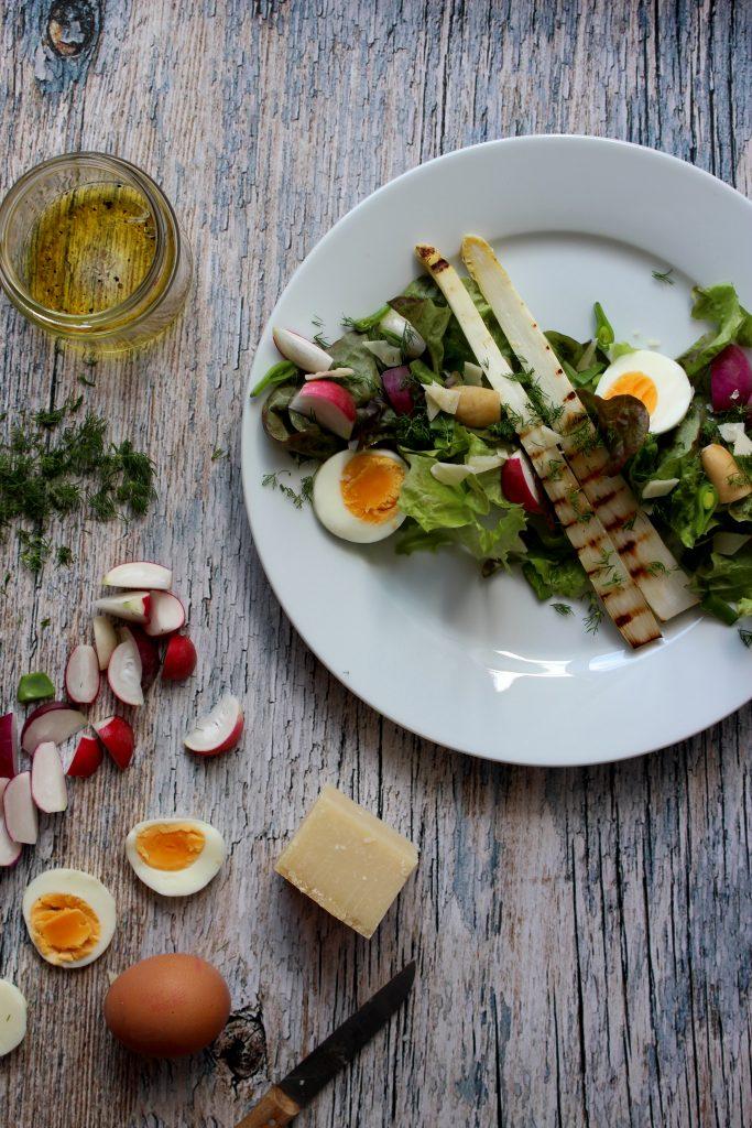 aspergesalade recept seizoensgroente juni
