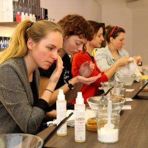 CIME skincare natuurlijke huidverzorgingsproducten workshop