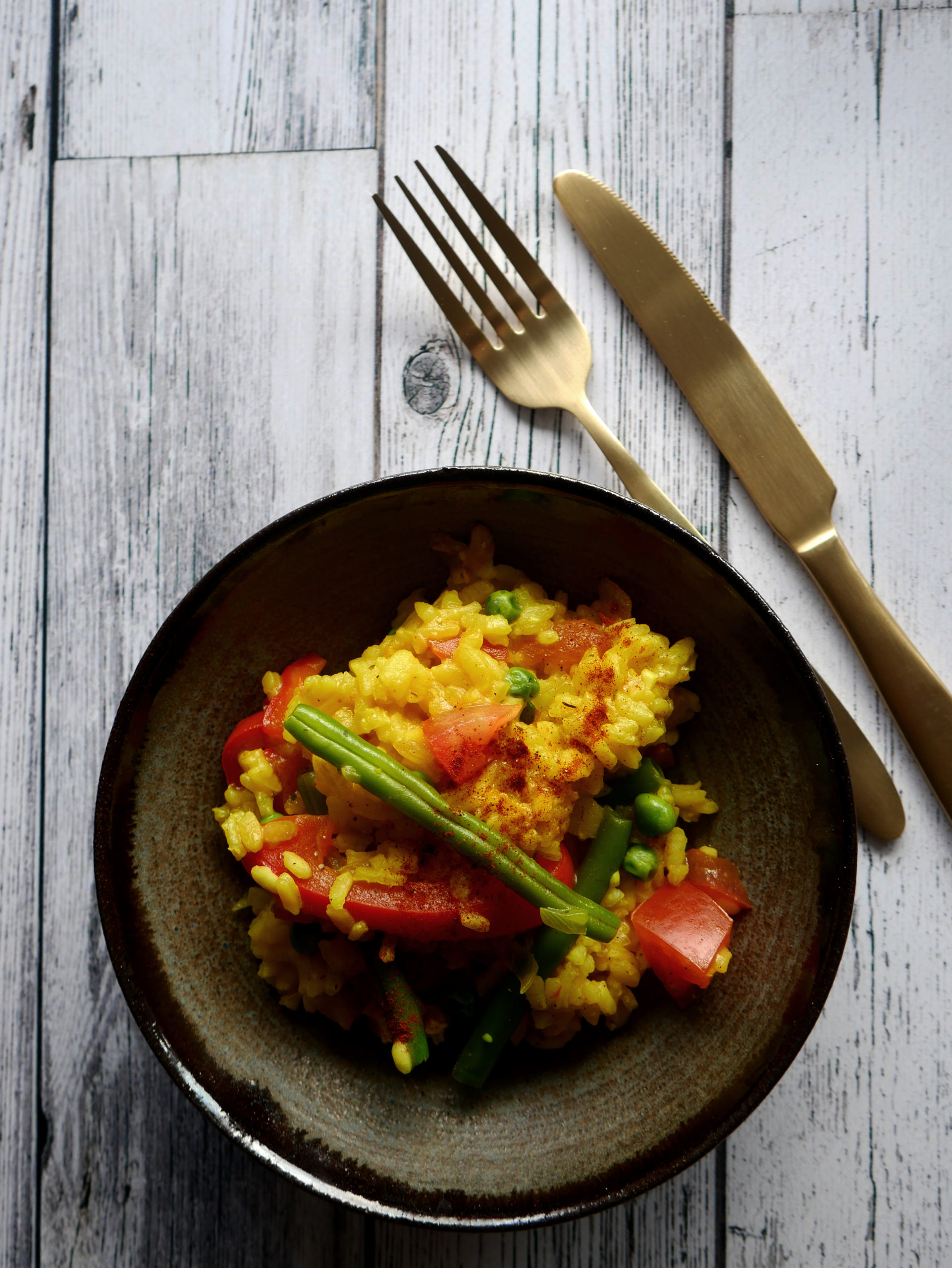 recept vegetarische paella seizoensgroenten augustus