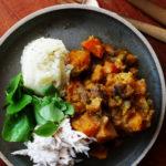 Vegan stoverij – Recept oktober