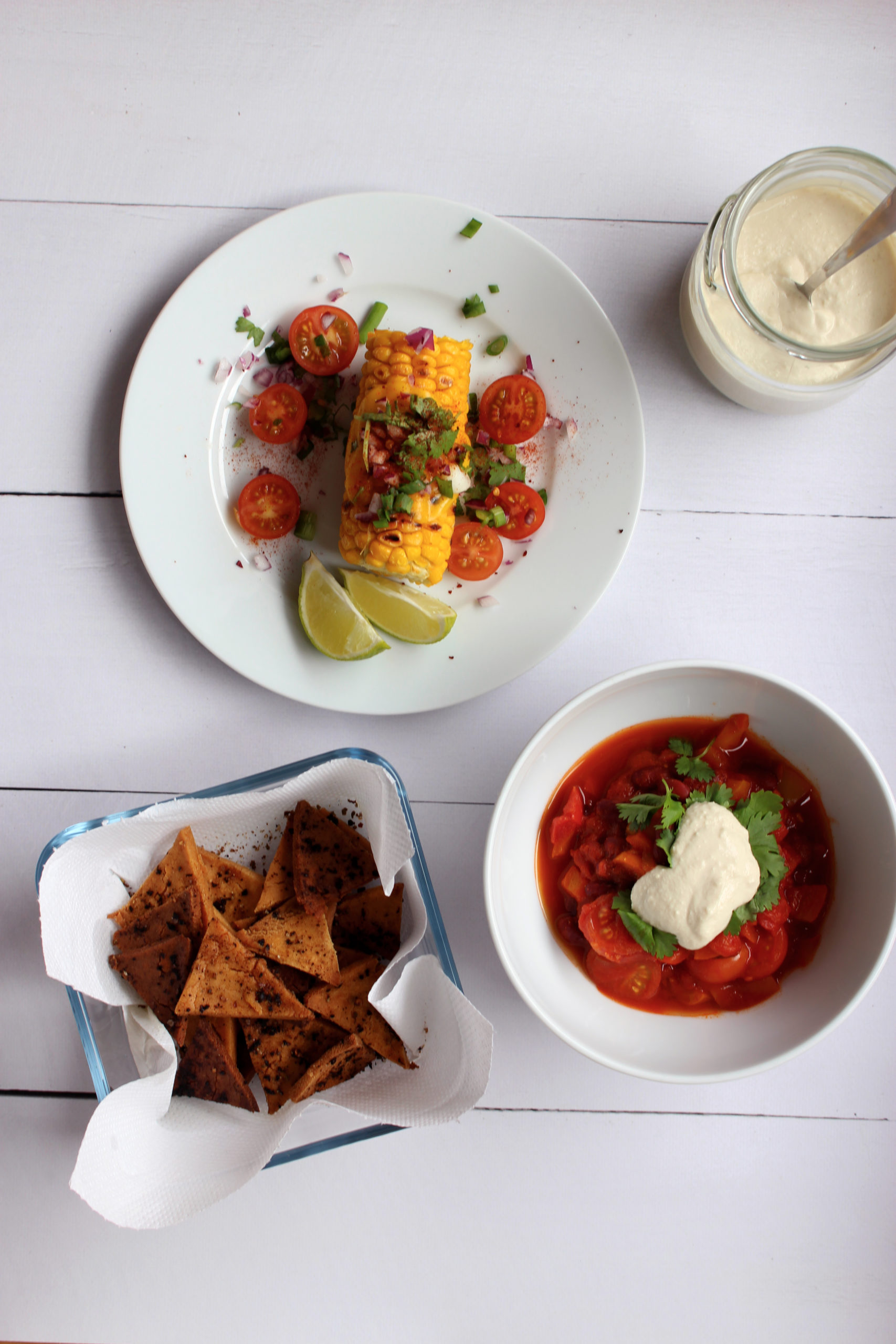 vegan veganistisch recept chili sin carne seizoensgroenten augustus